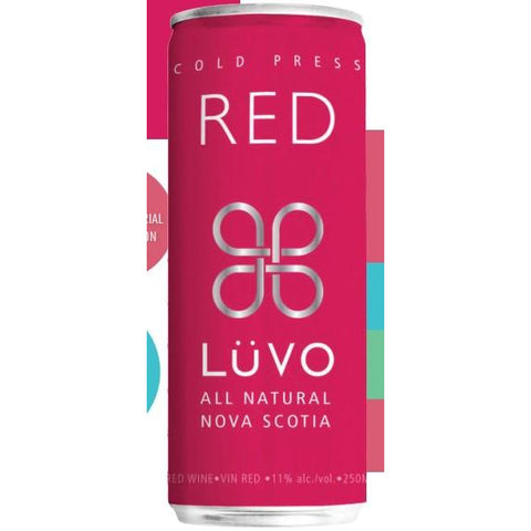 Luvo Cold Press Red 250 ml can