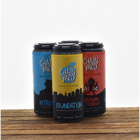 Chain Yard Assorted Cider 4 packs