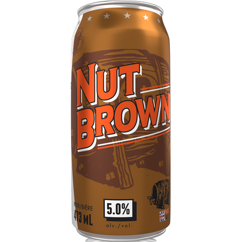 Garrison Nut Brown 4 pack cans