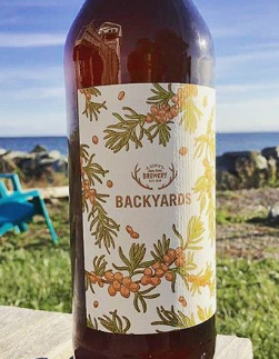 A. Keith's BACKYARDS Sea Buckthorn Saison - Courtyard Series 650 ml