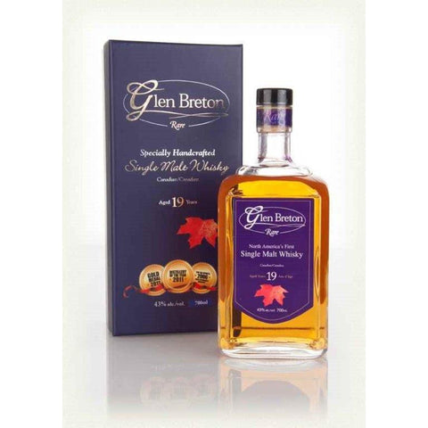 Glen Breton Rare Whisky 19 Year Aged 750 ml