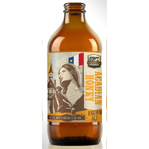 Annapolis Brewing Acadian Honey Brown Ale 355 ml