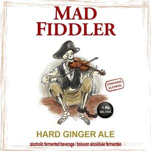 Bulwark Mad Fiddler Hard Ginger Ale 330 ml