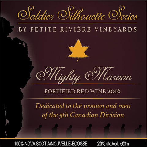Petite Riviere Mighty Maroon 2016 (Fortified Red)