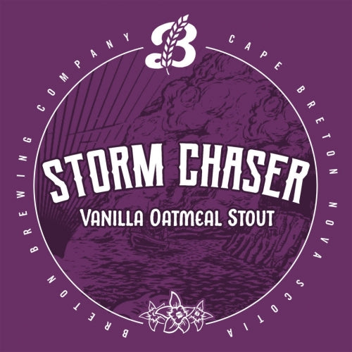 Breton Brewing Storm Chaser Vanilla Oatmeal Stout 4 pack