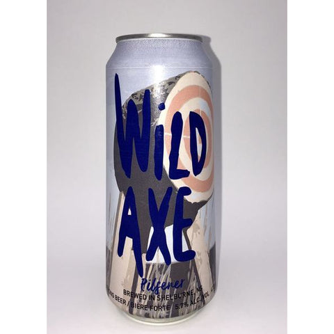 Boxing Rock Wild Axe Pilsener 4 pack cans