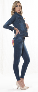 Chamarra Jeans Clasica Cod:1001