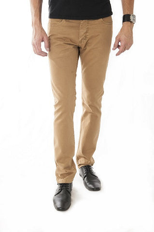 Pantalon Jeans Slim Fit Beige Cod: 104-501