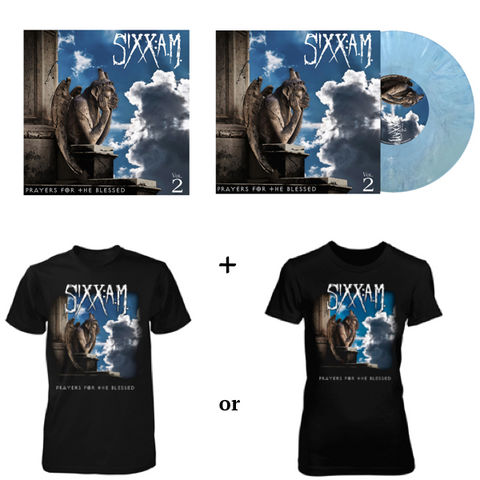 Prayers for the Blessed T-Shirt + CD & LP Bundle