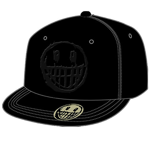 Logo and Face Snap Back Cap