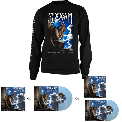 Prayers for the Blessed Longsleeve T-Shirt + Music Bundle