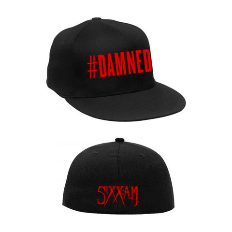 #DAMNED Embroidered Hat