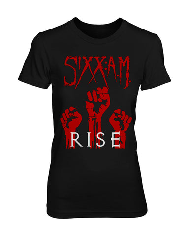 Rise Fists Womens Tee