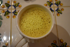 Chaga and Turmeric Golden Milk Latte