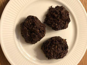Gluten Free / Vegan No-Bake Cookies