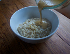 Using Dr. Cowan's Garden Powder with Oatmeal