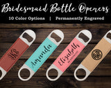 Bridesmaid Bottle Opener