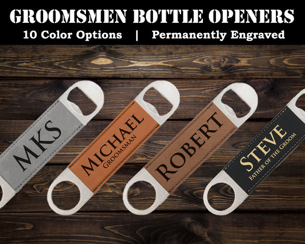 Groomsmen Bottle Opener