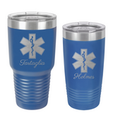 Paramedic EMT Star of Life Coffee Tumbler