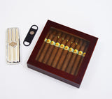 Custom Engraved Cigar Humidor Box Cigar Aficionado Personalized Custom Family Gifts