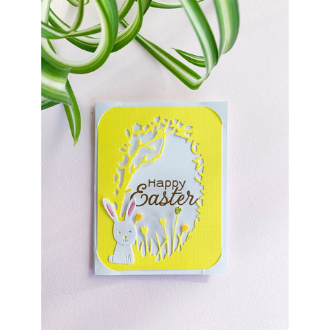 Happy Easter - Handcrafted Card