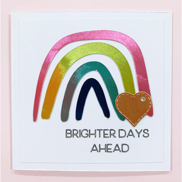 Brighter Days Ahead Handcrafted Card