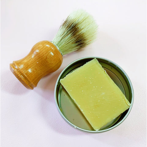 Shave Soap and Boar Brush Set