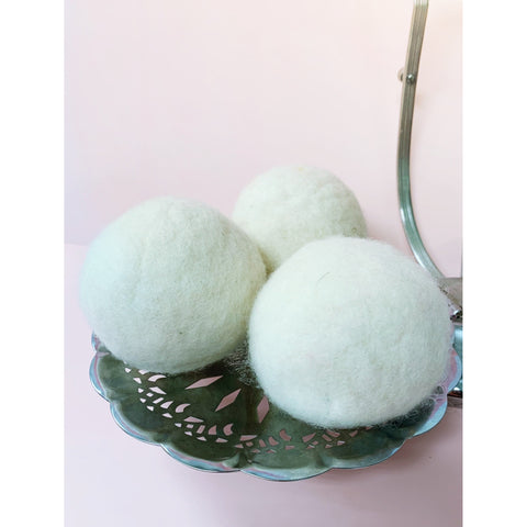 Set of Wool Dryer Balls (3)