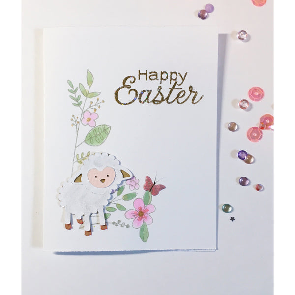 Happy Easter Handcrafted Card
