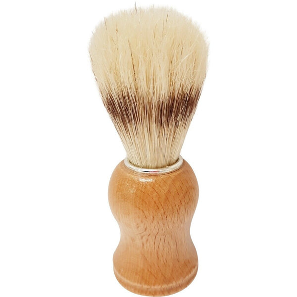 Boar Shave Brush Wood Handle