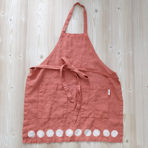 Moon Apron - Adobe