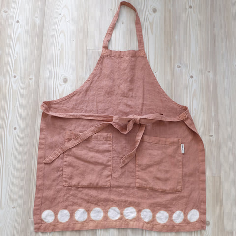 Moon Apron - Clay