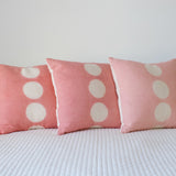 Hand-Dyed Pillow Cover - Blush