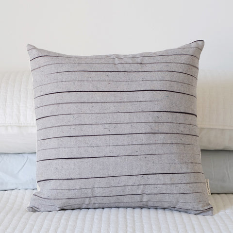 Throw Pillow - Midnight Stripe