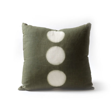 "Moon Pillow 18"" - Moss"