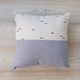 Throw Pillow - Birch