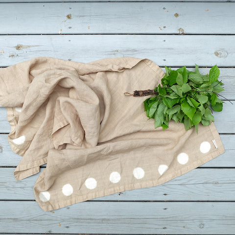 Cottage Towel/Throw - Mushroom