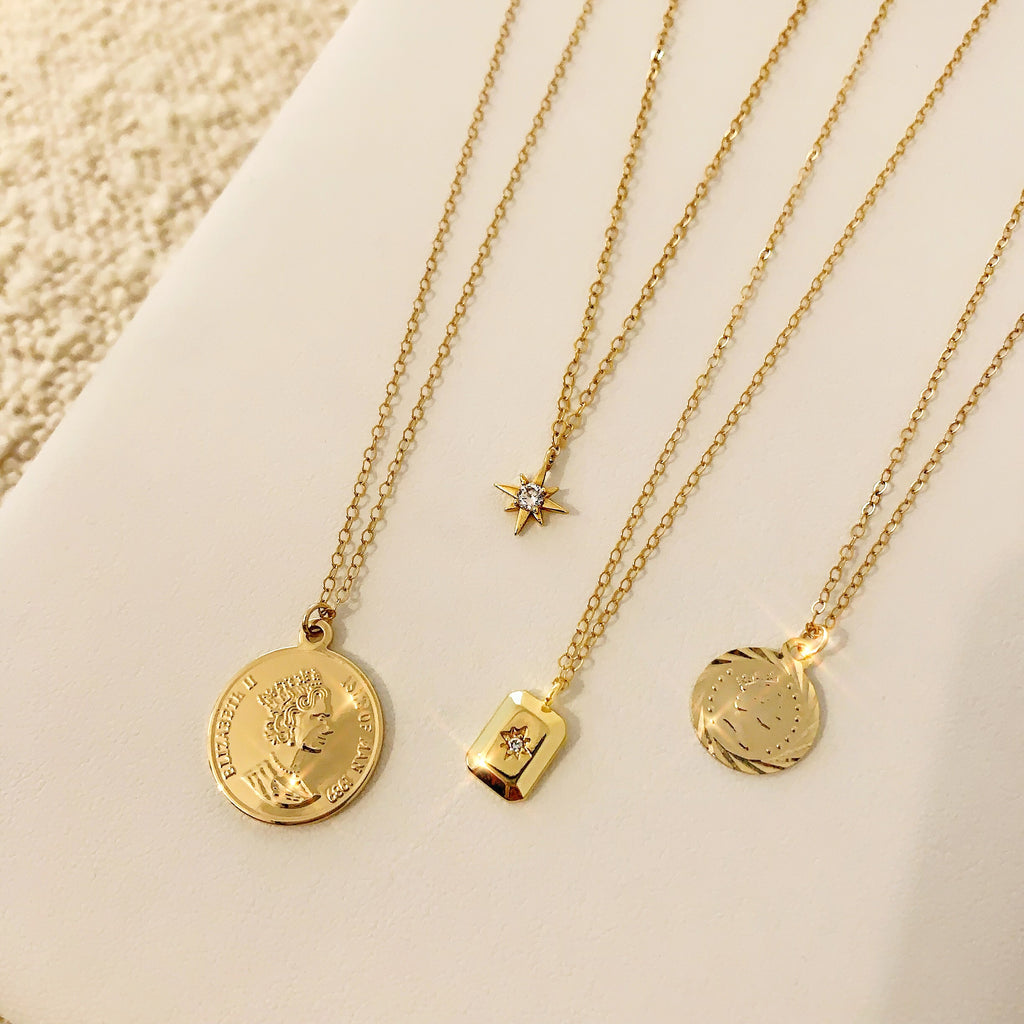 GLITTER & COINS (14K GOLD FILLED FREE GIFT!!)