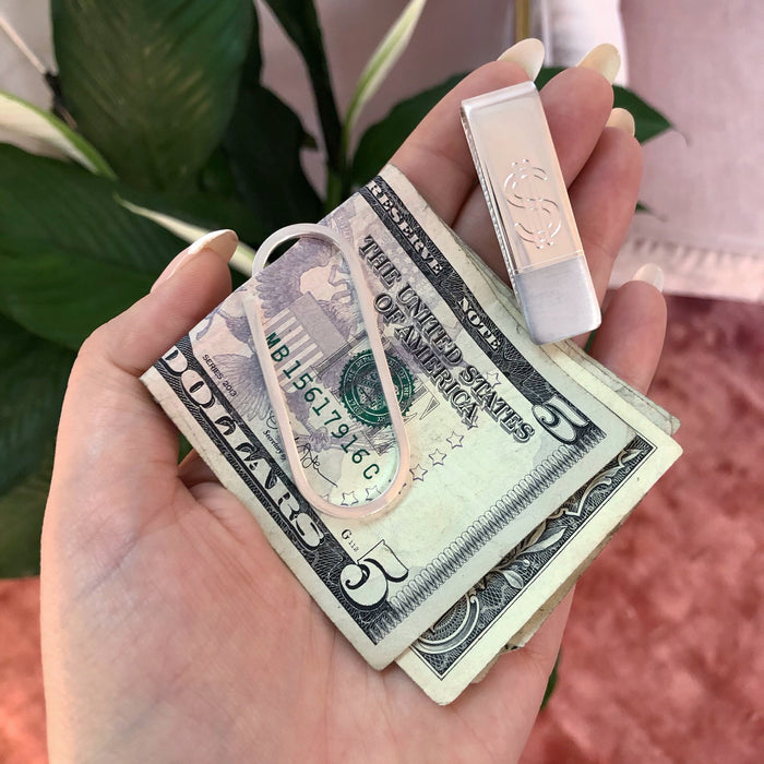 COLD HARD CASH CLIP (925 STERLING SILVER)