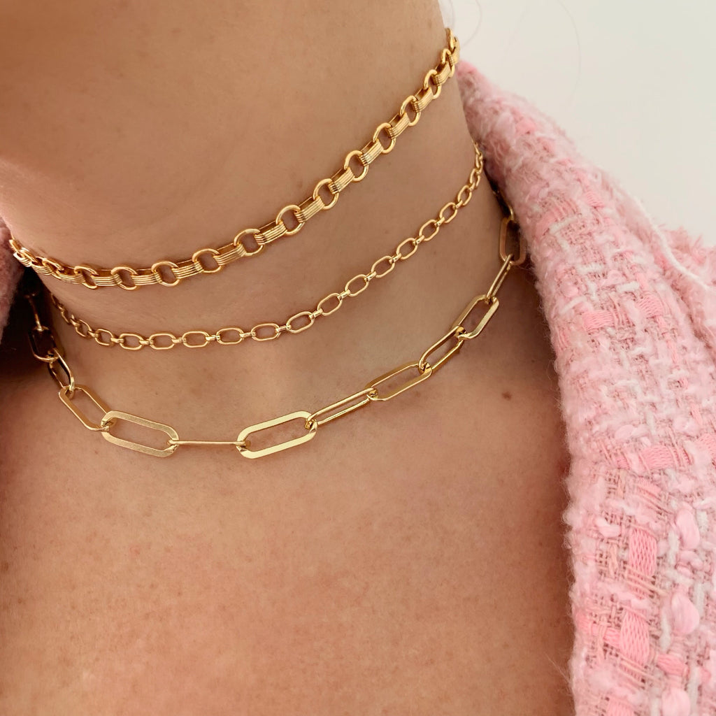 70S DREAM CHOKER (14K GOLD FILLED)