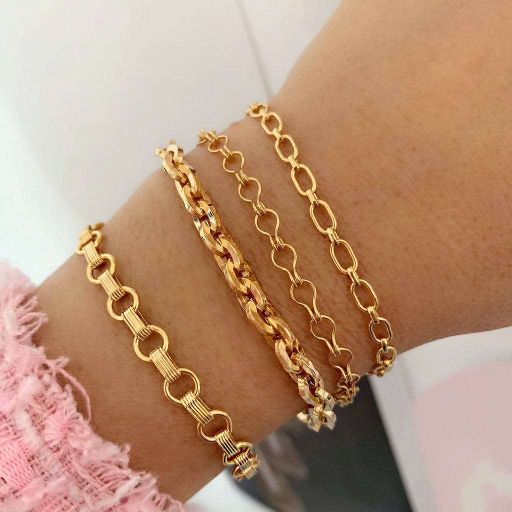 70S DREAM BRACELETS (14K GOLD FILLED)