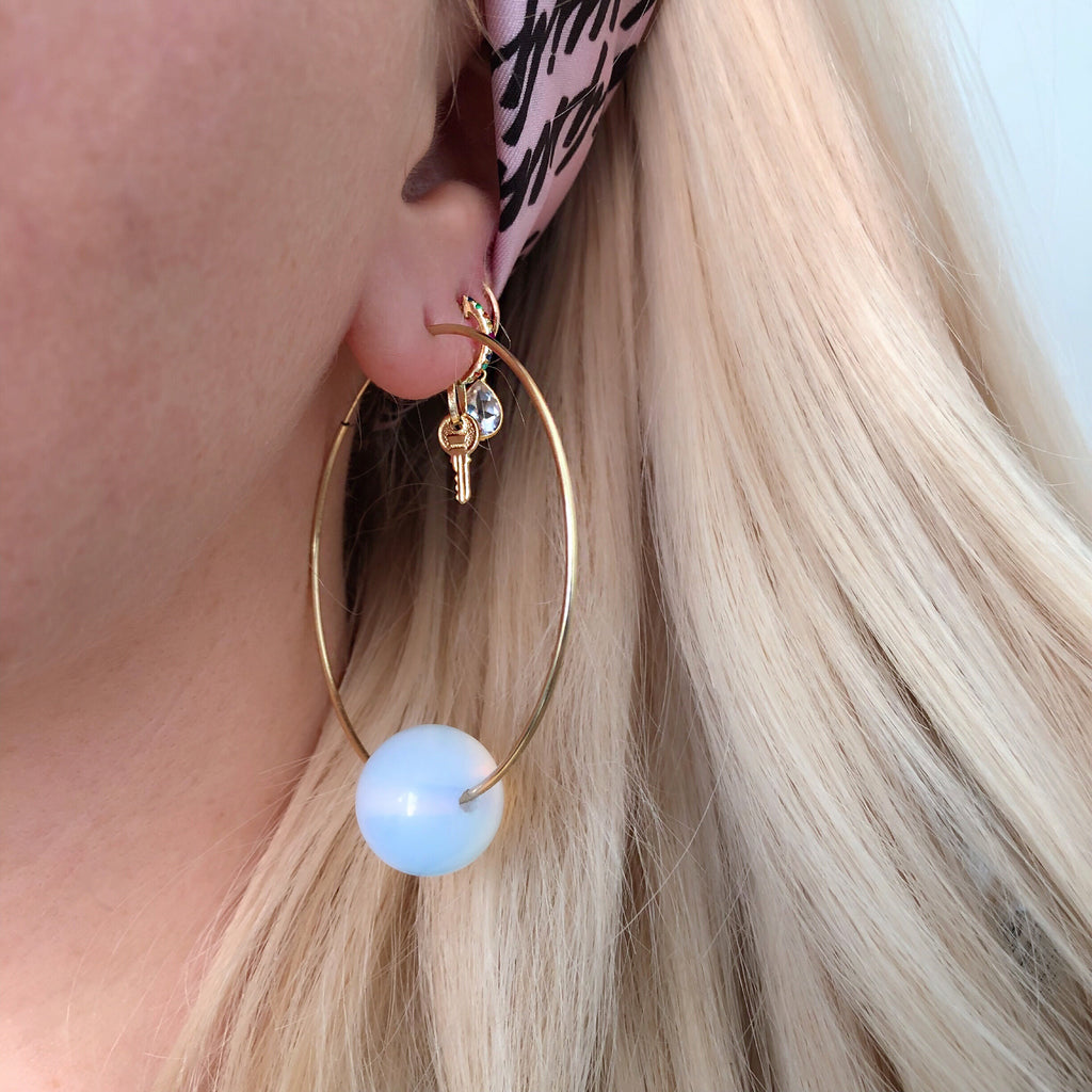 OPALITE COLLECTION (14K GOLD FILLED OR STERLING SILVER)