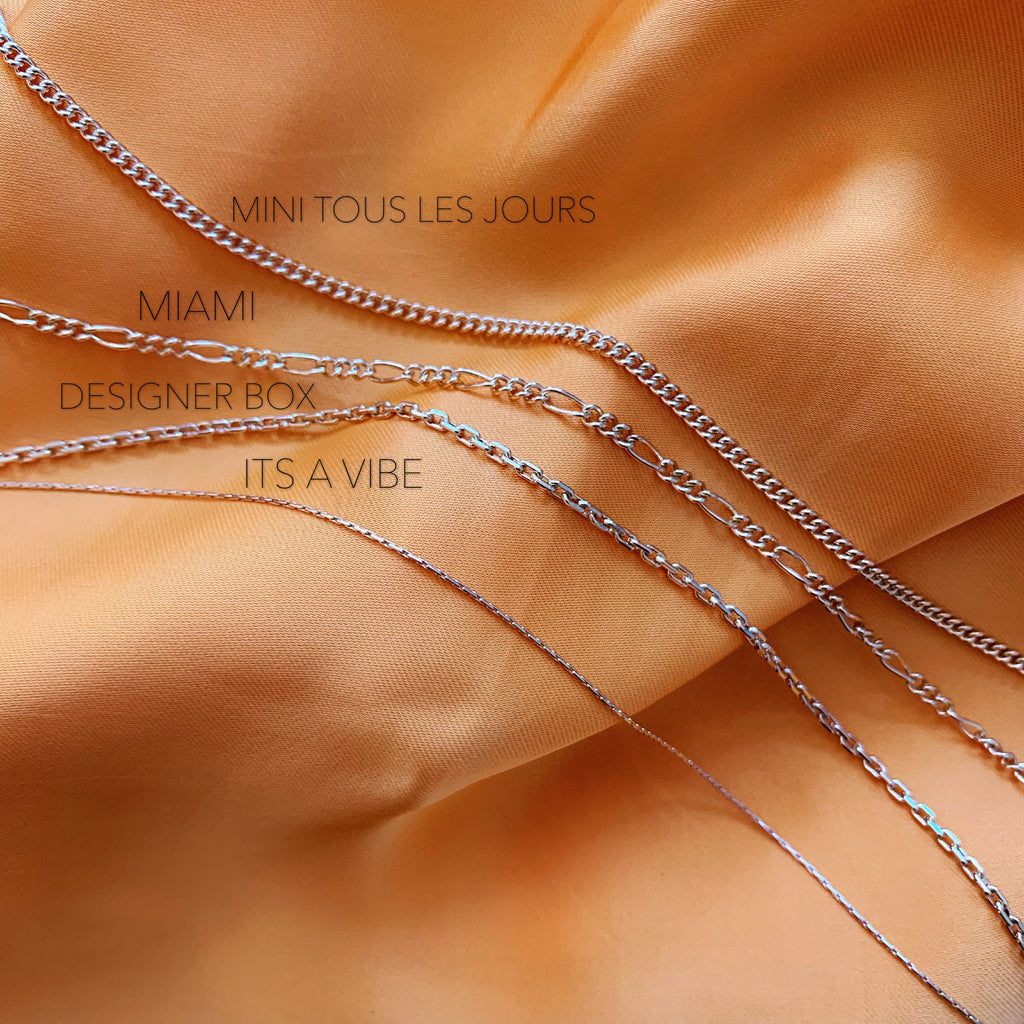 EFFORTLESS LAYERING CHAINS (14K GOLD FILLED OR STERLING SILVER)