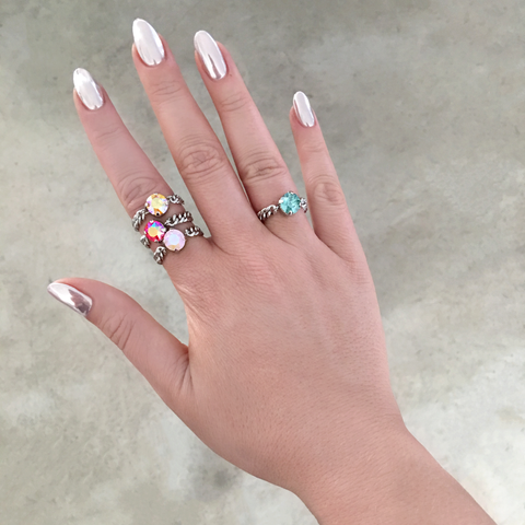 SHINING STAR STACKABLE RINGS