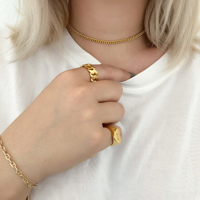 TOUS LES JOURS LONG CHOKER (14K GOLD FILLED OR STERLING SILVER)