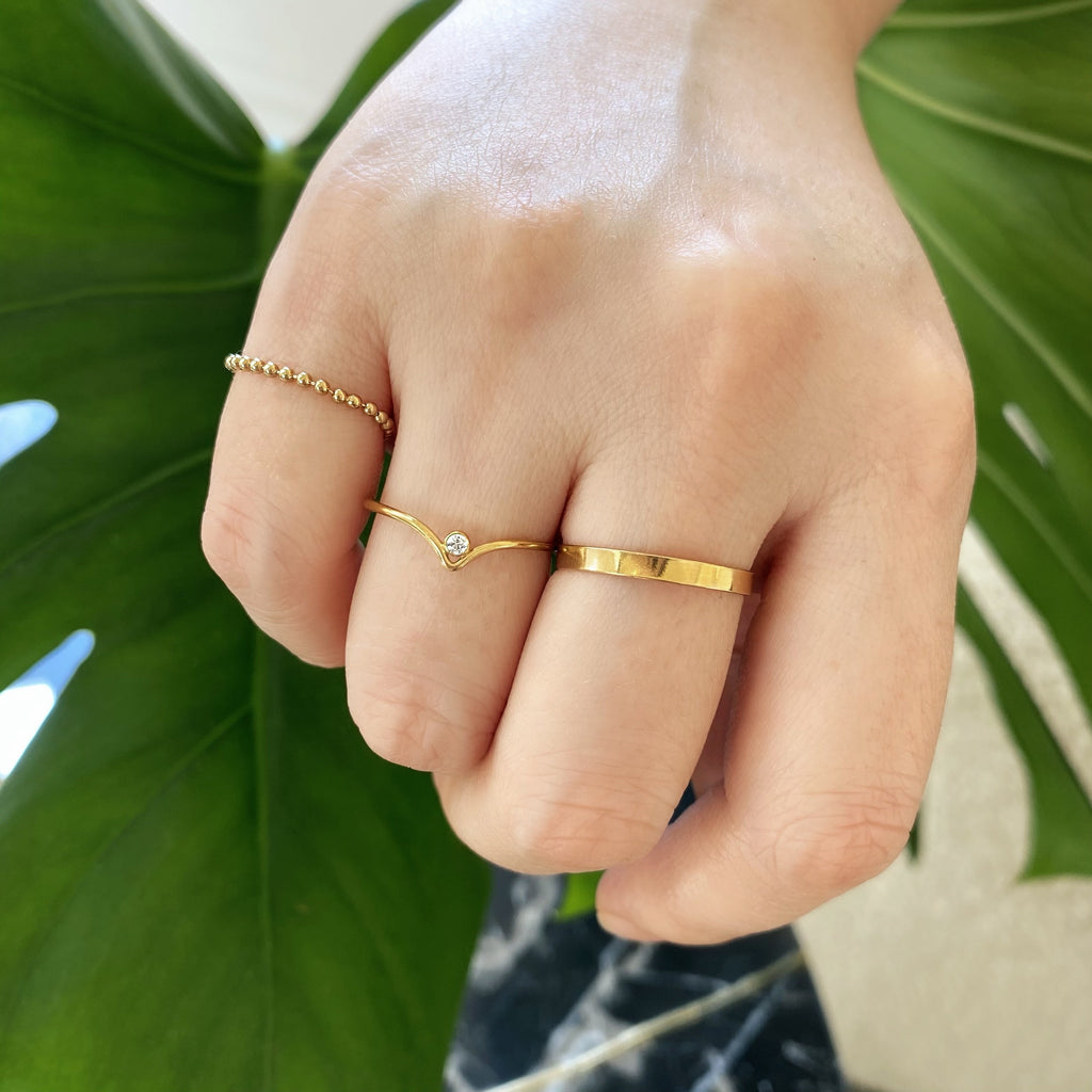 DAILY STACK RINGS (14K GOLD FILLED)