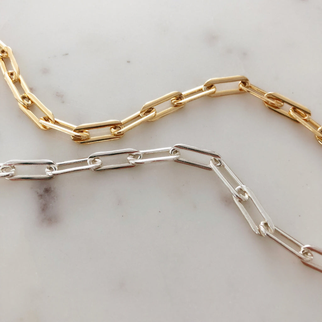 LA DUCHESS BRACELET & CHOKER (14K GOLD FILLED OR 925 STERLING SILVER)