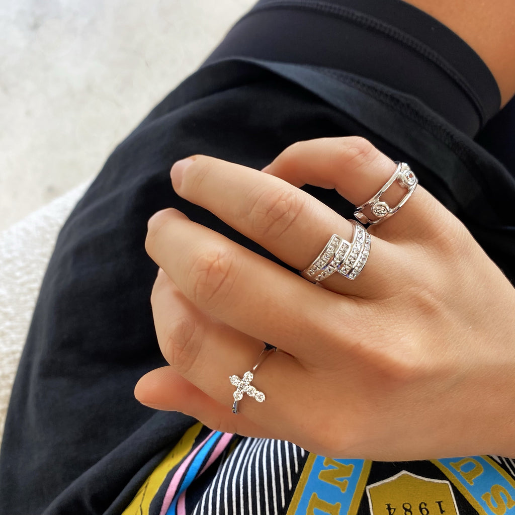 AS IF! RING COLLECTION (925 STERLING SILVER)