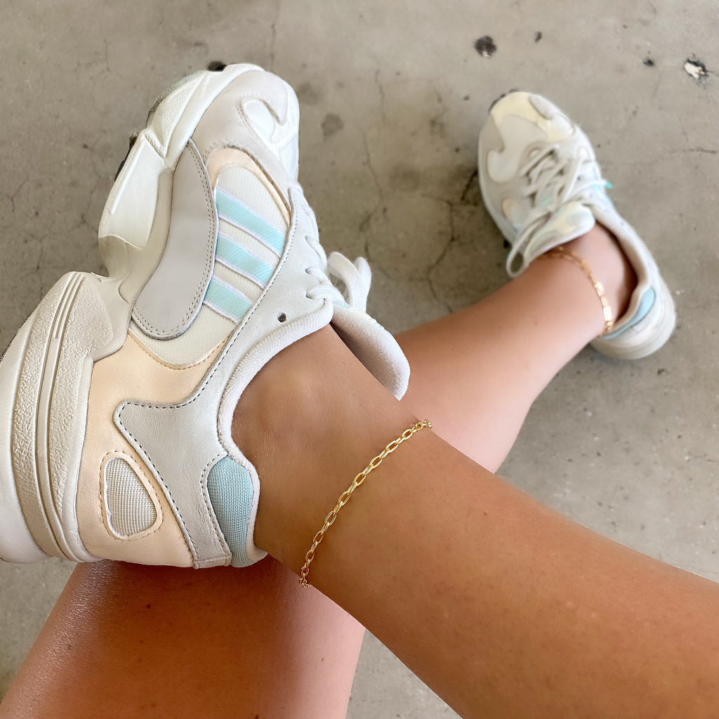 BEACH CLUB ANKLETS (14K GOLD FILLED)