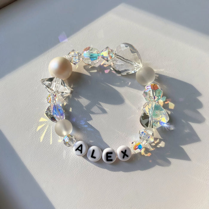 AB CRYSTAL DREAM ID BRACELET